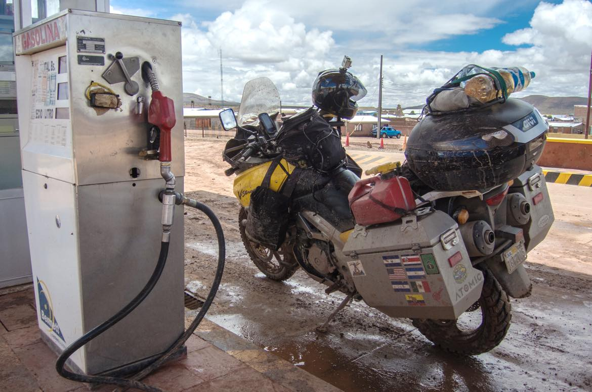 two-up on a suzuki dl1000 v-strom with odyssey ii panniers | jesse