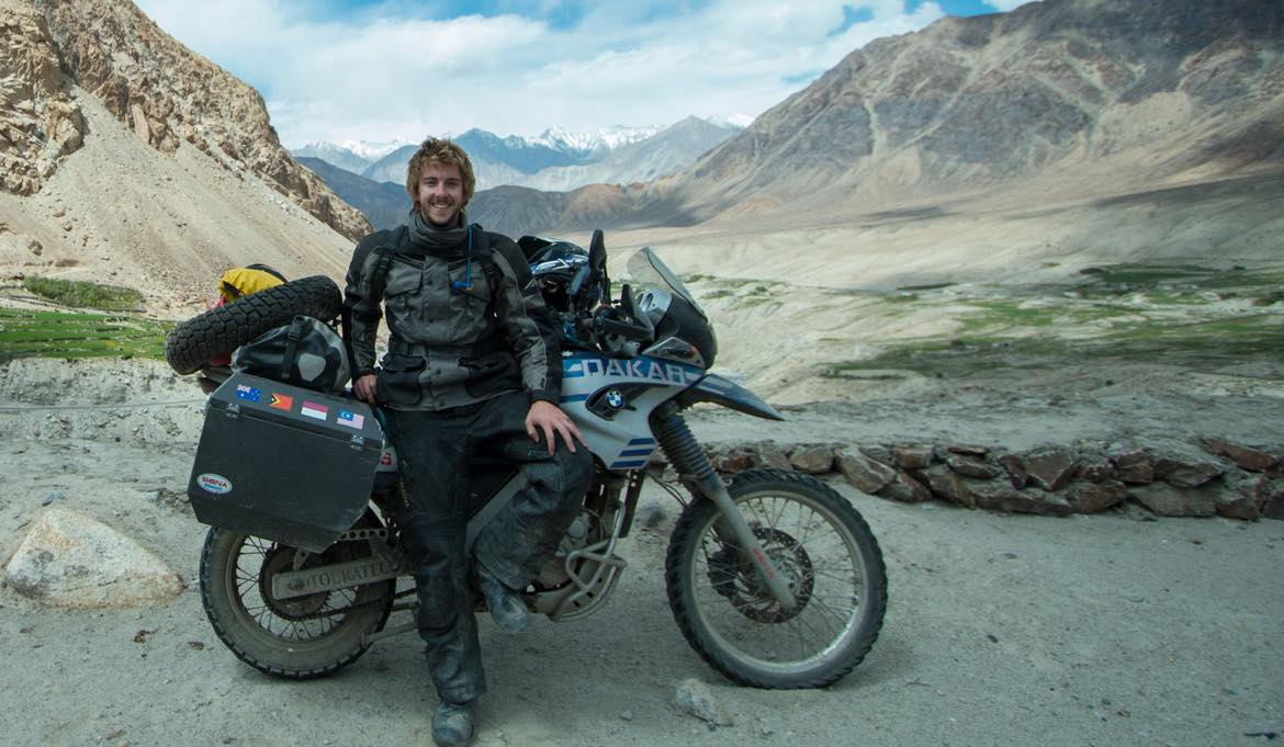 Riding the Highest Road in the World with ODYSSEY II Panniers