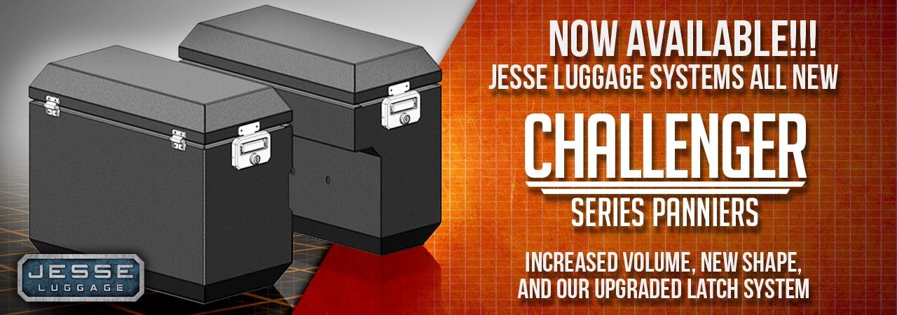 Adventure Motorcycle Luggage, Jesse Luggage, Nwe Challenger Panniers