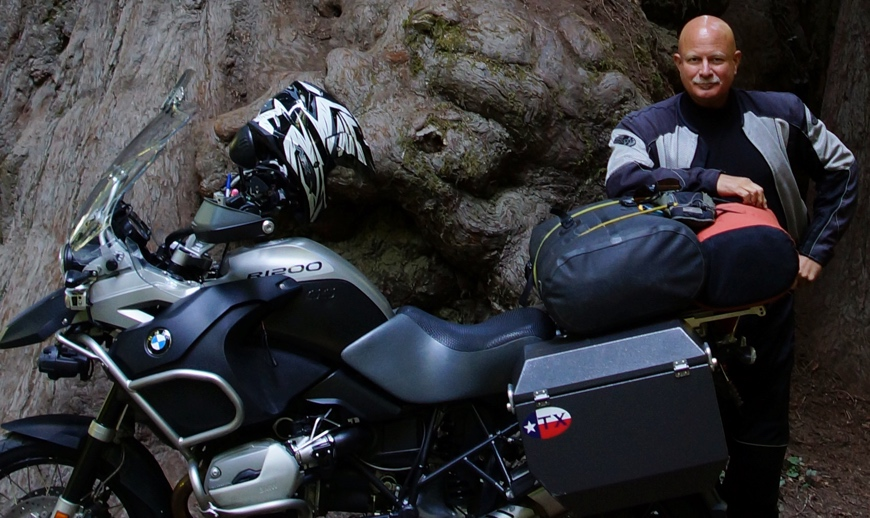 David Hand: Riding a BMW R1200GS Adventure with ODYSSEY II Panniers