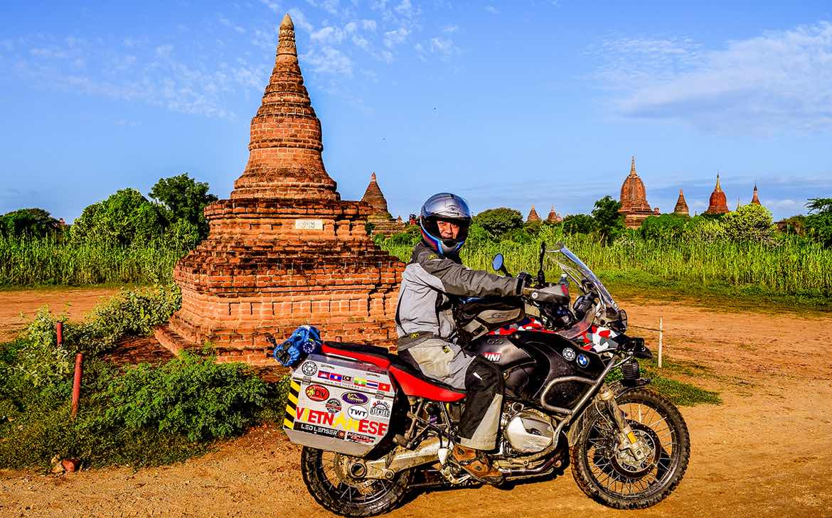 Exploring Southeast Asia with ODYSSEY II Panniers